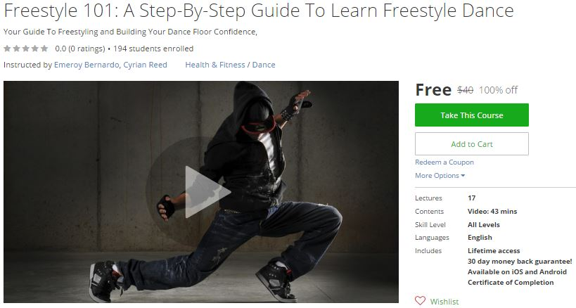 Freestyle Dance Fitness® –