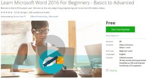 udemy-learn-microsoft-word-2016-for-beginners-basics-to-advanced