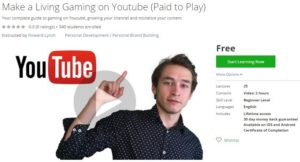 udemy-make-a-living-gaming-on-youtube-paid-to-play