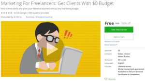 udemy-marketing-for-freelancers-get-clients-with-0-budget