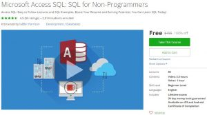 udemy-microsoft-access-sql-sql-for-non-programmers