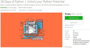 udemy-30-days-of-python-unlock-your-python-potential