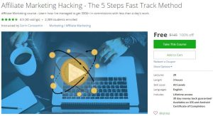 udemy-affiliate-marketing-hacking-the-5-steps-fast-track-method