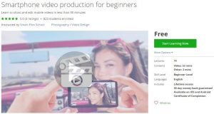 udemy-smartphone-video-production-for-beginners