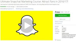 udemy-ultimate-snapchat-marketing-course-attract-fans-in-2016-17