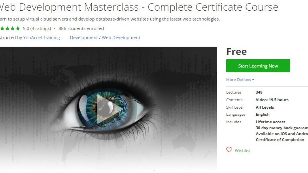 Udemy Coupon – Web Development Masterclass – Complete Certificate