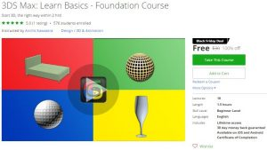 udemy-3ds-max-learn-basics-foundation-course