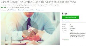 udemy-career-boost-the-simple-guide-to-nailing-your-job-interview