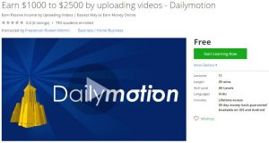udemy-earn-1000-to-2500-by-uploading-videos-dailymotion