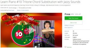 udemy-learn-piano-10-tritone-chord-substitution-with-jazzy-sounds