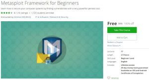 udemy-metasploit-framework-for-beginners