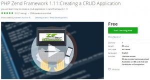 udemy-php-zend-framework-1-11-creating-a-crud-application