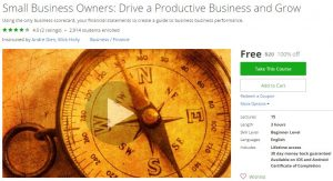 udemy-small-business-owners-drive-a-productive-business-and-grow
