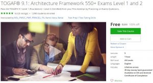 udemy-togaf-9-1-architecture-framework-550-exams-level-1-and-2