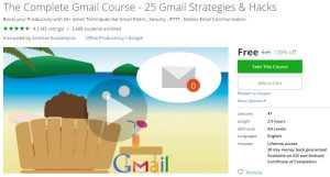 udemy-the-complete-gmail-course-25-gmail-strategies-hacks