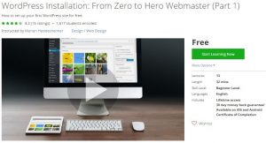 udemy-wordpress-installation-from-zero-to-hero-webmaster-part-1