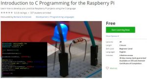 Udemy Coupon – Introduction to C Programming for the