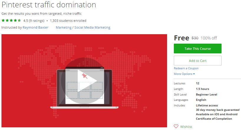 Udemy coupon discount global