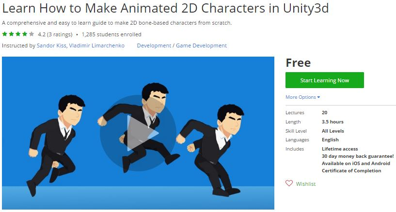 Udemy Coupon – Learn How to Make Animated 2D Characters in