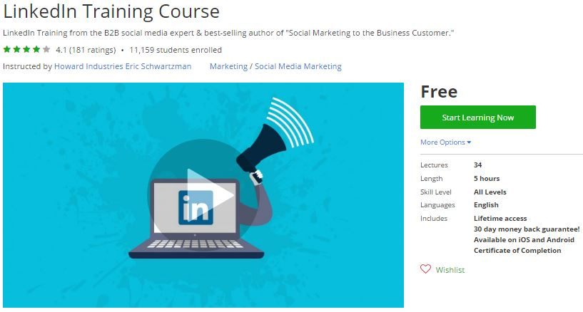 Udemy Coupon – LinkedIn Training Course | Free Coupon Discount