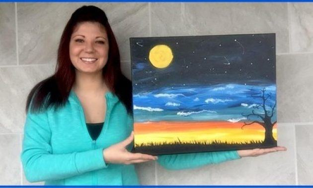 Acrylic Painting For Beginners: Paint This Sunset Landscape Course