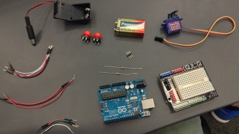 Udemy Coupon-Build 11 Arduino Practical Projects today!