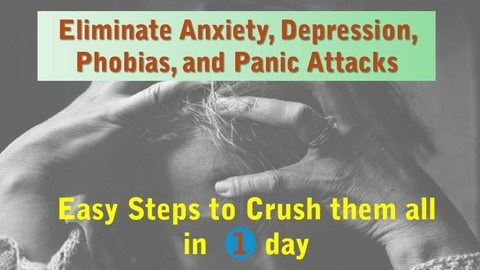 Udemy Coupon-Stop Anxiety: Crush it without doctors, pills, or therapy
