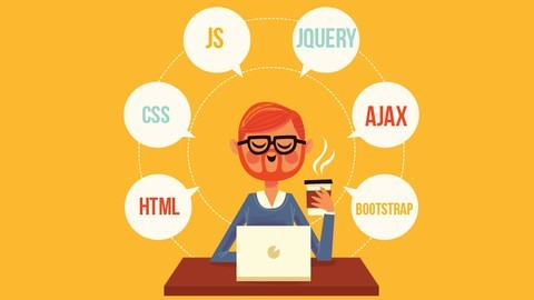 Udemy Coupon-The complete front-End series with frameworks and projects