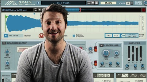 Udemy Coupon-Grain Sample Manipulator - Propellerhead Reason