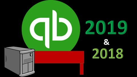 Udemy Coupon-QuickBooks Pro Desktop 2019 & 2018 Start to Finish
