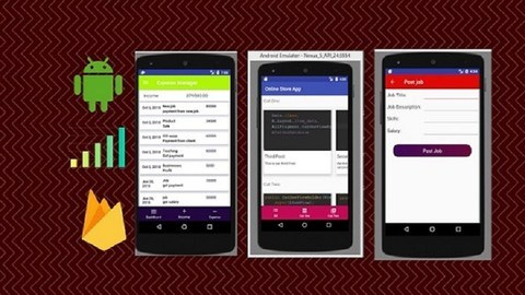Udemy Coupon-Android App Development Course Build 5 Real Android App