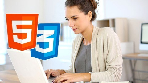 Udemy Coupon-The best way to learn modern and responsive web design, HTML5 and CSS3 step-by-step from scratch. Ready WEB portfolio!