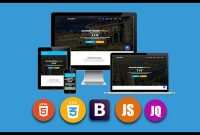 Udemy Coupon-Build a fully responsive website with Html 5 Css 3 Bootstrap and JavaScript