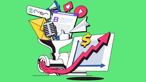 Udemy Coupon-Growth hacking tools to grow your startup or business: planning, blogging, guest post, podcasting, email marketing, pr.