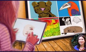 """Udemy Coupon-Create professional-looking digital paintings and illustrations using the free program Gimp, even if you """"can't draw."""""""