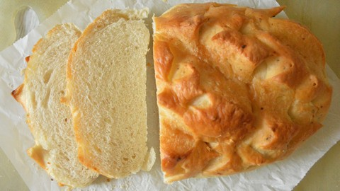 Udemy Coupon-Clean Breads, No Chemicals, No Egg, Bread Baking for Beginners