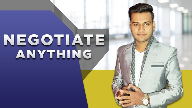 Udemy Coupon-To People Who Want To Learn Negotiation But Can't Get Started This Is The Only Negotiation Course You Ever Need.