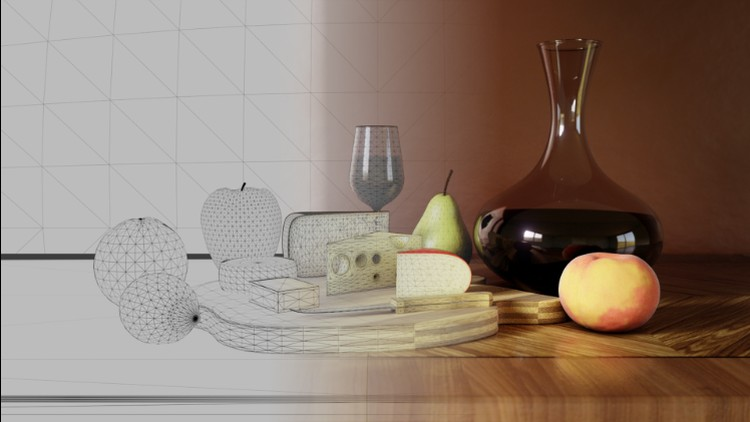 Udemy Coupon-Learn 3D Modeling, Sculpting, Lighting, Texturing, Rendering & Compositing using Blender in One Complete Course