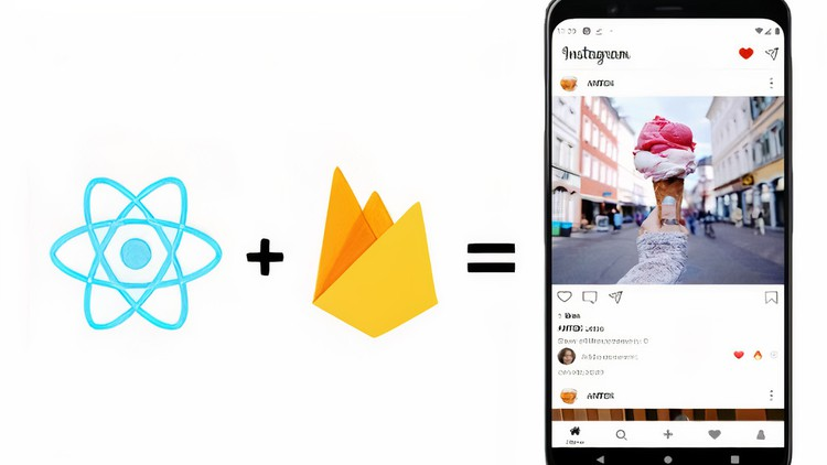 Udemy Coupon-JavaScript / React Native and Firebase tutorials, in which we will build a fully functional social network Instagram