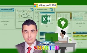Udemy Coupon-Save your time and effort and automate your daily tasks and events with Ready awesome MS Excel templates