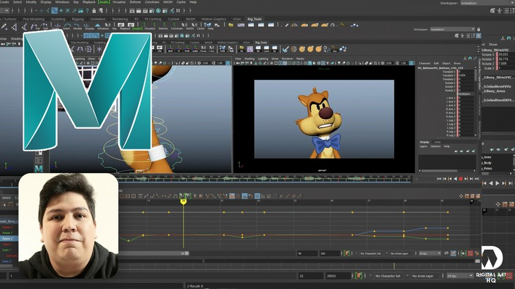 Udemy Coupon-Learn to Animate Body Acting, Body Mechanics and Facial Animation.