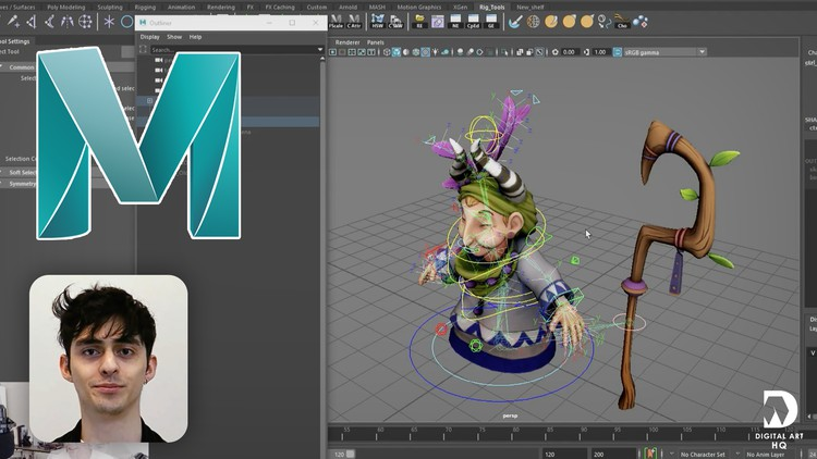 Udemy Coupon-Learn the tools and concepts to rig characters in Maya 2020