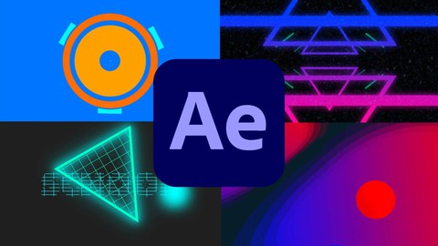 Udemy Coupon-Design and Animate Shapes Gradients and Type in After Effects