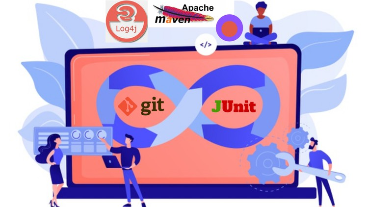 Udemy Coupon-Learn DevOps with Git, Apache Maven, JUnit, Apache Log4j. Get build automation, testing skills to become DevOps Engineer