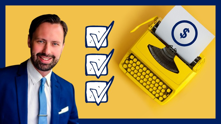 Udemy Coupon-Copywriting to Get 100s of New B2B Customers with Copywriter Skills, Content Writing, Content Strategy, Content Creation