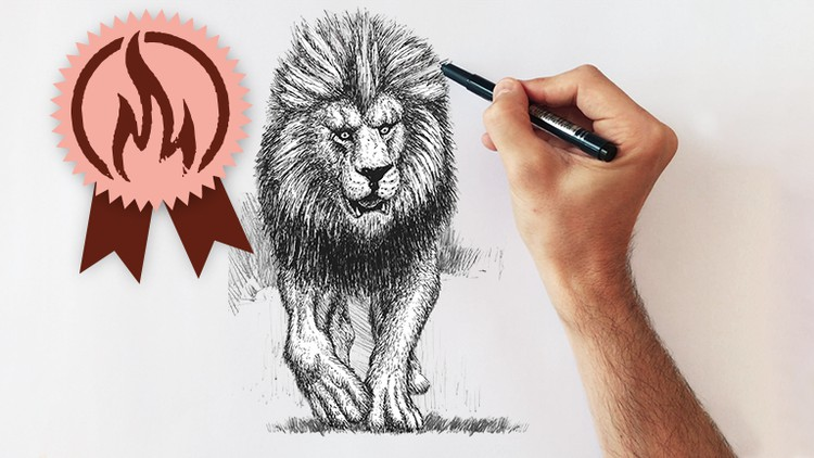 Udemy Coupon-Learn Drawing, Sketching, Pencil Drawing, Illustration, Pen Drawing, Watercolor and much more in a single Course.