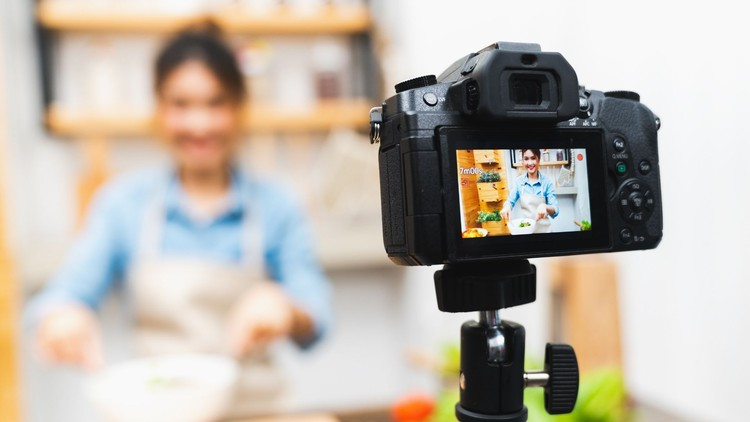 Udemy Coupon-Shoot food videos that make people hungry, tips and tricks PLUS behind the scenes