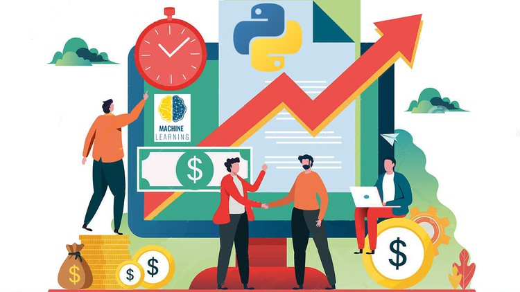 Udemy Coupon-Using Python and machine learning in financial analysis with step-by-step coding (with all codes)