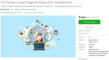 Udemy Coupon – 10 Perfect Lead Magnet Ideas For Freelancers