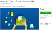 Udemy Coupon – 60-second Twitter Growth Marketing Hacks